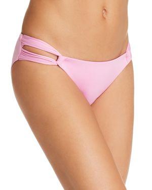 SOLUNA Solids Bikini Bottom in Rosy Pink