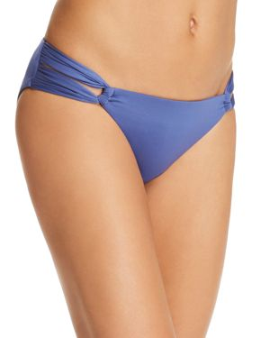 SOLUNA Solids Bikini Bottom in Lake Blue
