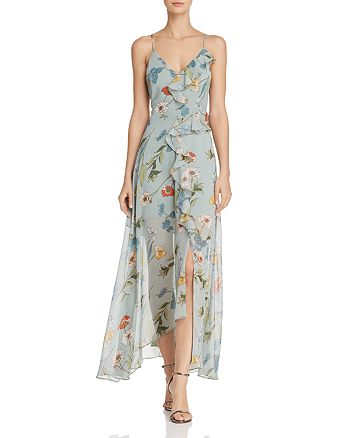 ASTR the Label - Sienna Floral Print Maxi Dress