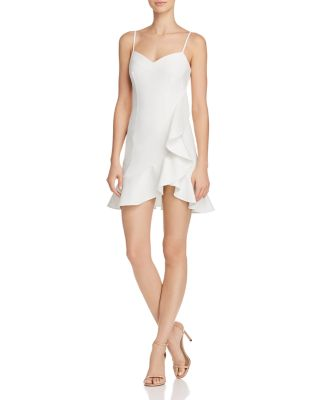 $LIKELY Laverna Ruffled Mini Dress - 100% Exclusive - Bloomingdale's