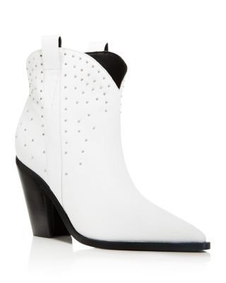 Kalie Studded Leather Western Booties by Sigerson Morrison
