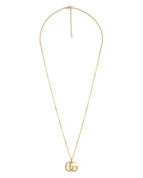 """Gucci - 18K Yellow Gold Running G Pendant Necklace, 23.5"""""""
