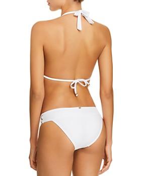 PilyQ - Lace Waistband Bikini Bottom