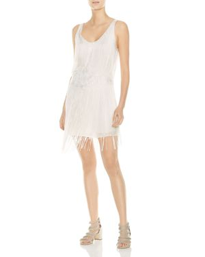 Haute Hippie Grandeur Fringed Embroidered Dress 2978557