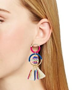 Rebecca Minkoff - Beaded Statement Earrings