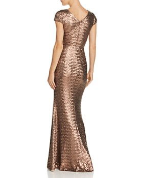 Dress the Population - Lina Sequined Gown