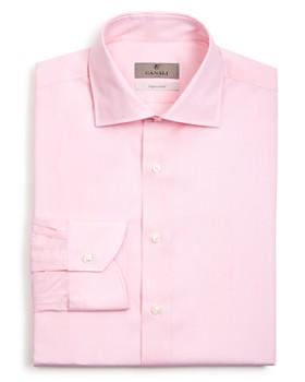Canali - Solid Regular Fit Dress Shirt