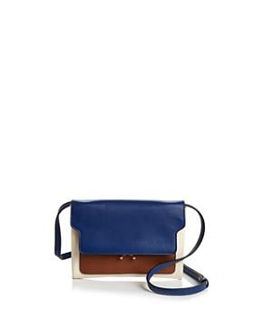 Marni - Trunk Pochette Leather Convertible Crossbody