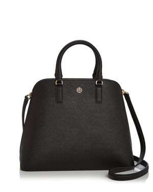 Tory Burch Robinson Leather Dome Satchel 2983191