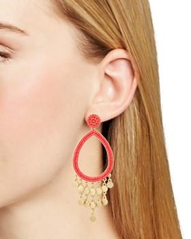 Rebecca Minkoff - Riley Beaded Chandelier Earrings