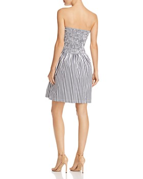ATM Anthony Thomas Melillo - Smocked Striped Dress