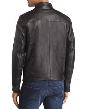 BOSS - Nestal Leather Jacket