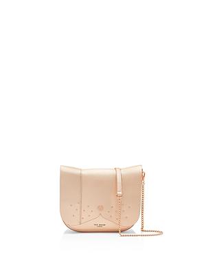 130996326f Ted Baker Barkley Dog Leather Crossbody Bag - Pink In Rose Gold ...