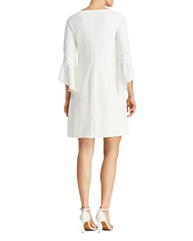 Ralph Lauren - Petites Bell-Sleeve Crepe Dress