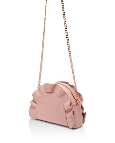 Ted Baker - Roseeyy Leather Ruffle Crossbody