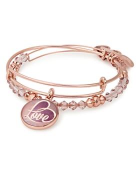 Alex and Ani - Love Expandable Bracelets