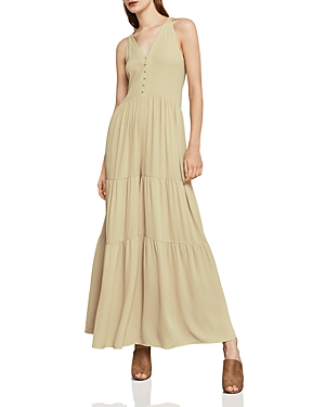 Bcbgmaxazria Harvie Tiered Wide-Leg Jumpsuit