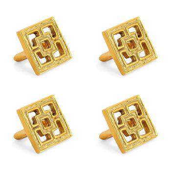 Jonathan Adler - Nixon Napkin Rings, Set of 4