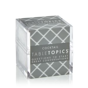 TABLETOPICS COCKTAIL PARTY CONVERSATION STARTERS CUBE