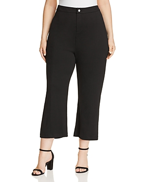 Lysse Plus Jackie Flared Crop Pants