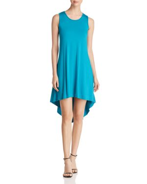 Robert Michaels Sleeveless High/Low Dress in Turquoise