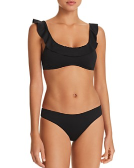 Eberjey - So Solid Layla Bikini Top & So Solid Annia Bikini Bottom
