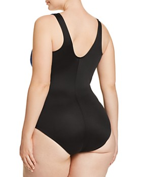 Miraclesuit Plus - Plus Mediterra It's A Wrap One Piece Swimsuit