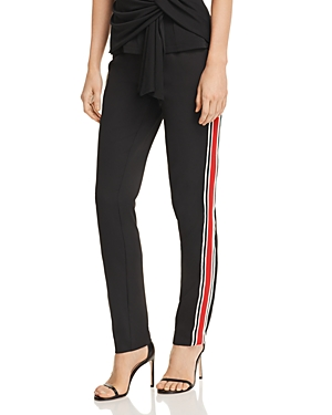 C/meo Collective C/MEO COLLECTIVE BE MOVED STRIPED TRACK-STYLE PANTS