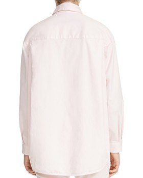 Maje - Chilo Button-Down Denim Shirt