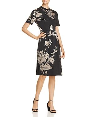 Donna Karan New York Floral-Print Dress