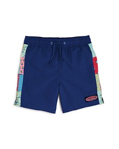 Vineyard Vines Boys' Patchwork Swim Trunks - Big Kid - Bloomingdale's_0