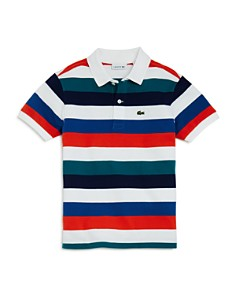 Lacoste Boys' Mixed Stripe Polo - Little Kid, Big Kid - Bloomingdale's_0