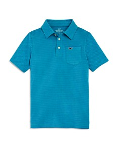 Vineyard Vines Boys' Striped Edgartown Performance Polo - Little Kid, Big Kid - Bloomingdale's_0