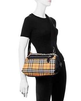 Burberry - Small Vintage Check Duffel Bag