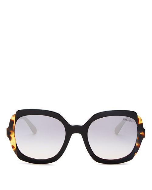 5228be84a2c Prada - Women s Eiquette Mirrored Square Sunglasses