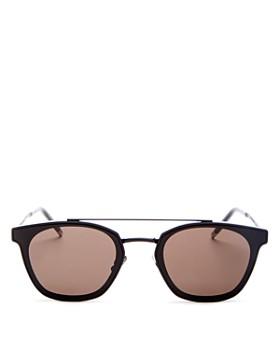 Saint Laurent - Brow Bar Square Sunglasses, 61mm