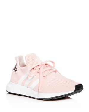 Adidas Women'S Swift Run Originals Running Shoe in Icey Pink