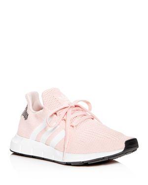 Adidas Women'S Swift Run Originals Running Shoe, Icey Pink/White/Black