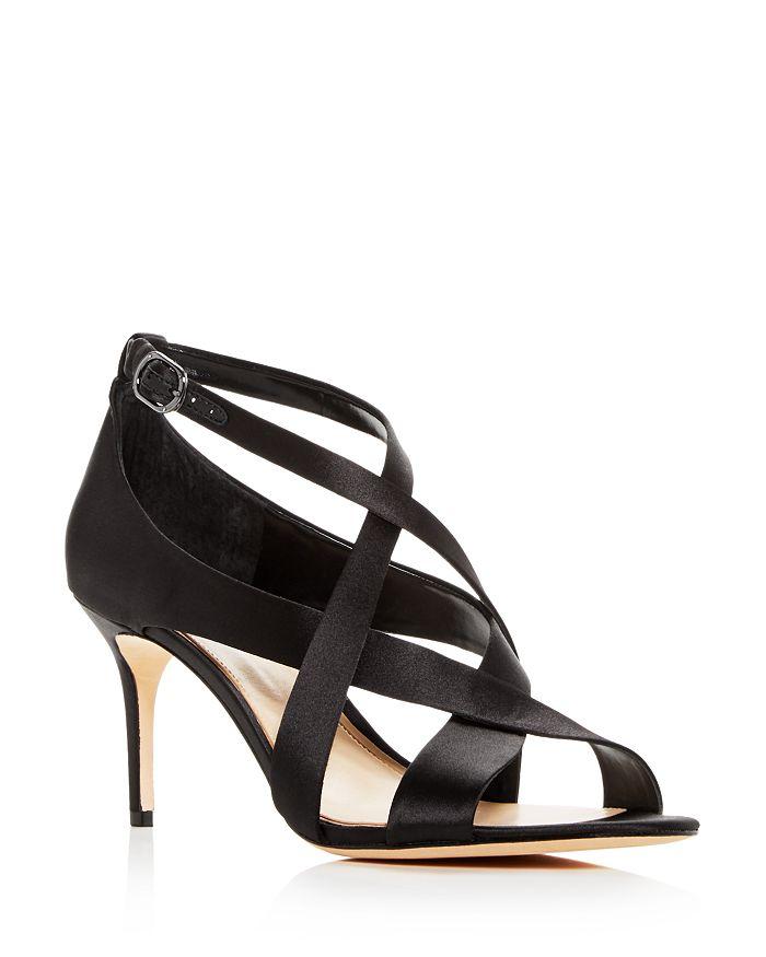 Imagine VINCE CAMUTO - Women's Paill Satin Crisscross High Heel Sandals