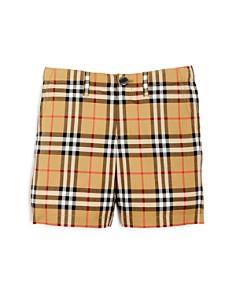 Burberry - Boys' Tristen Vintage Check Shorts - Little Kid, Big Kid