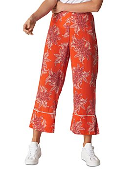 Whistles - Palmyra-Print Crop Pants