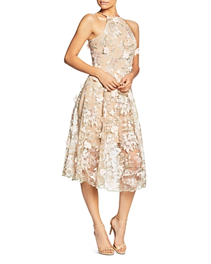 Dress the Population Evelyn Floral Midi Dress