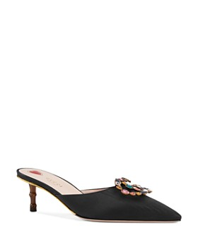 78cb86e86a1 Gucci - Women s Crystal Double G Mules ...