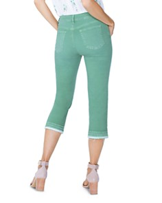 NYDJ - Released-Hem Capri Jeans in Cactus