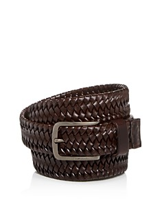 HUGO Sawen Woven Leather Belt - Bloomingdale's_0