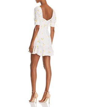 For Love & Lemons - Ashland Lace-Up Dress