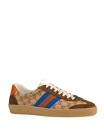 Gucci - Men's Signature Print Sneakers