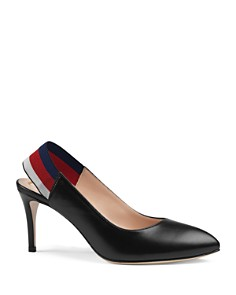 Gucci - Women's Sylvie Leather High Heel Pumps