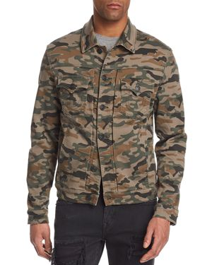 TRUE RELIGION DYLAN CAMOUFLAGE JACKET
