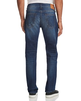 True Religion - Geno Slim Straight Jeans in Suspect